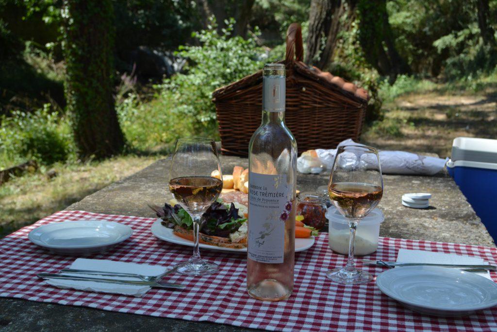 På picnic tur i Entrecasteau