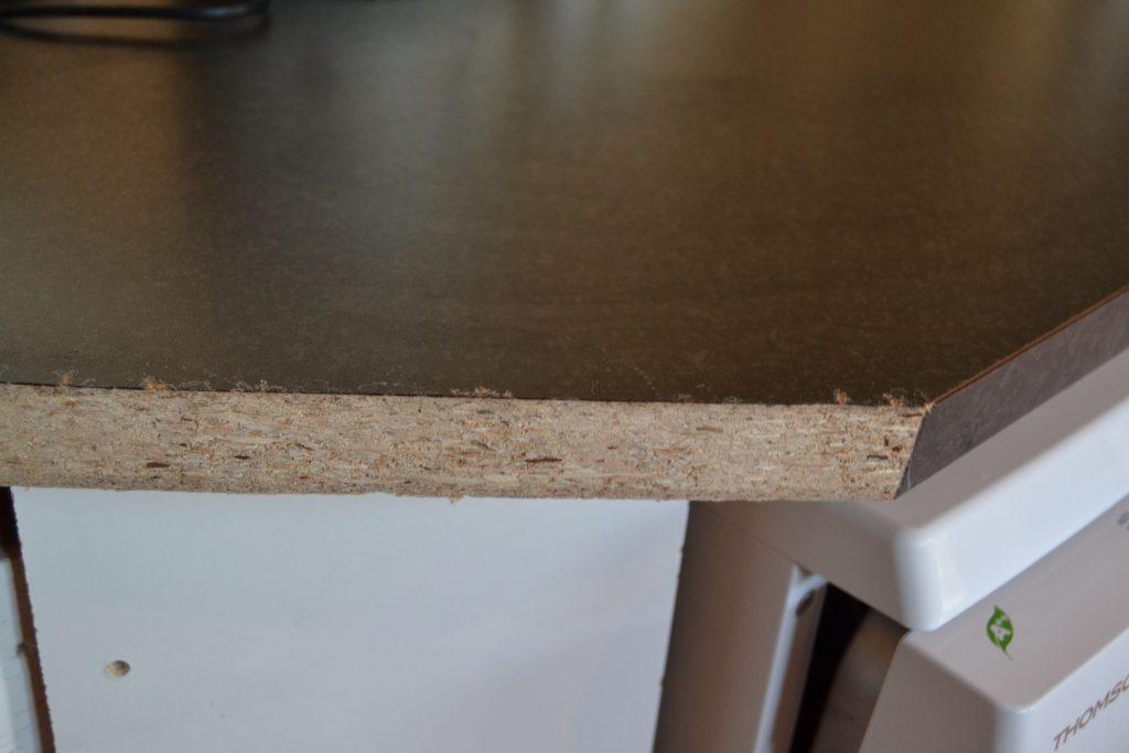 Her blev taget en ordentlig luns af køkkenbordet - af flere omgange