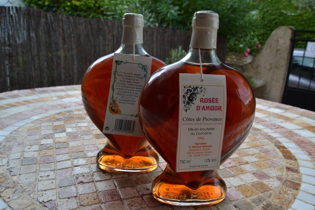 De to hjerteformede flasker fra L'Estello