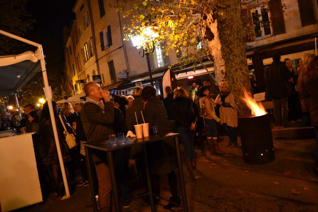 Beaujolais Nouveau fest i Hovedgaden i Lorgues